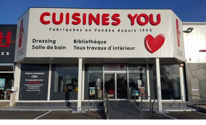 Cuisines you chambray l s tours indre et loire 37 you for Liste cuisiniste